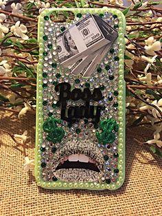 Get money honey boss lady green iphone 6 by RansdellsRhinestones