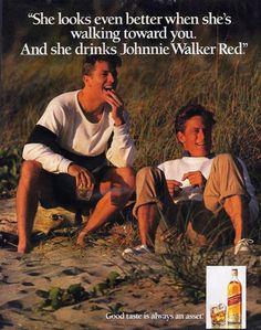 Johnnie-Walker-Whisky 1991