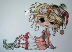 Bestie steampunk img602 close-up by Marion... (pinned from Facebook)