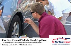 Automotive Vehicle Check-up Event : http://www.carcare.org/2012/08/car-care-council-hosting-largest-ever-vehicle-check-up-event-2/#