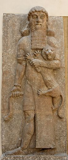 Gilgwmesh, 5th King of Uruk _-Palas ofSargon II. ,Louvre