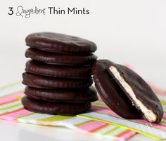 Homemade Thin Mints // Everyday Reading