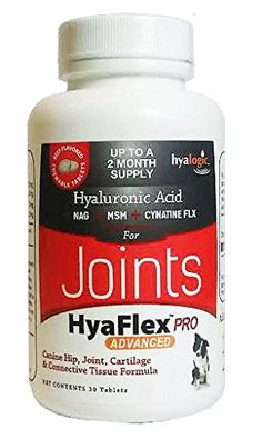 HyaFlexPro Advanced Beef Wafers / Tabs for Dogs, Canine Hip Joint Cartilage and Connective Tissue Formula, 30 Count * Hurry! Check out this great product(This is an affiliate link and I receive a commission for the sales) : Dog supplies