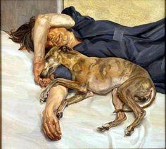 Lucian Freud ha dedicato l'intera sua vita alla pittura ed era considerato uno dei più potenti ed espressivi pittori figurativi contemporanei.