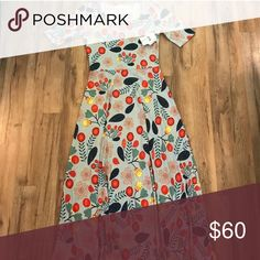 LuLaRoe Ana! ISO!!!! In search of this beautiful LuLaRoe Ana dress in a size Large! Dresses Maxi