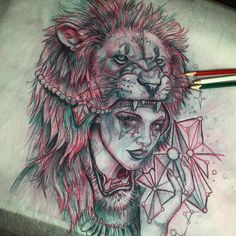 Obsessed with these pictures. Maybe do a different women w/ different animal skin going in a circle, have like 3 or 4.