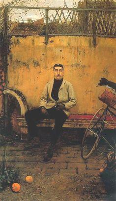 Ramon Casas en París (1887) Santiago Rusiñol