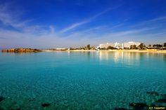 Adams Beach Ayia Napa, Cyprus