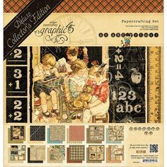 Graphic 45 - ABC Primer Collection - Deluxe Collector's Edition - 12 x 12 Papercrafting at Scrapbook.com