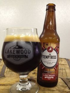 Beer Buzz: The Temptress Imperial Milk Stout.  My absolute favorite stout