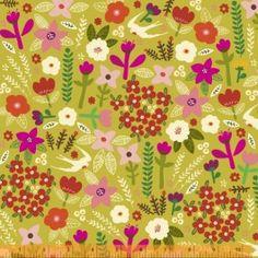 'petite floral' from http://www.eternalmaker.com/pre-order-swallow-garden-in-citron-petite-fleur-organic-carolyn-gavin-for-windham-fabrics