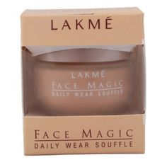 Lakme Face Magic Daily Wear Souffle Flaunt flawless skin by using the Lakmé Face Magic Souffle. This foundation by Lakmé covers up spots, blemishes, dark circles and patchy skin to give you that radiant and glowing skin tone. This light weight, water based foundation is enriched with the goodness of sunscreen, cucumber extracts, and vitamin E. https://play.google.com/store/apps/details?id=com.womensdeals.womensdeals