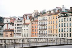 ANNE in FASHION | Wintertime In Lovely Lyon, France. Pretty cityscape and architecture in Vieux Lyon