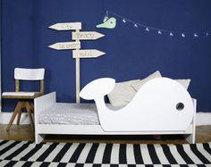 Rausfallschutz Wal Baby Boy Rooms, Baby Room, Diy Toddler Bed, Baby Zimmer, Wood Toys, Kids Room, Ikea, Interior, Furniture