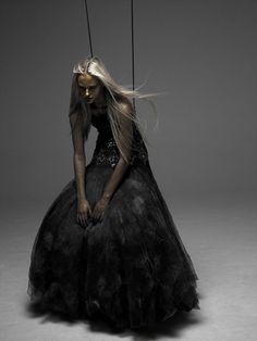 Stuart Weston from 125 MAGAZINE | macabre | surreal | occult | goth | editorial | dark fashion