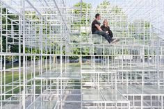 Sou Fujimoto: padiglione della Serpentine Gallery, 2013. Photo Iwan Baan