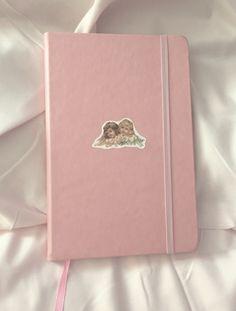 "rosey-ballerina: "" New journal "" Peach Aesthetic, Angel Aesthetic, Korean Aesthetic, Tout Rose, Bullet Journal Aesthetic, Cute School Supplies, Office Supplies, Princess Aesthetic, Girly"