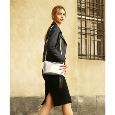 Leather Skirt, Shoulder Strap, Zip, Skirts, Clutch Bags, Shopping, Collection, Pocket, Women