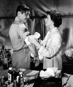 Clark Gable and Ava Gardner Mogambo 1953