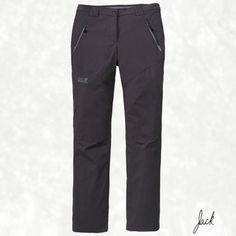 Jack Wolfskin Activate softshell pants Ladies Light grey/black