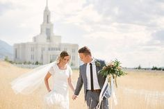 Photo from m+k {wedding day} collection by Malea Ellett Photographer Payson Utah Temple Wedding Day Temple Wedding, Dream Wedding, Wedding Day, Wedding Couples, Wedding Pictures, Wedding Photography Styles, Bridal And Formal, Utah Wedding Photographers, Happily Ever After