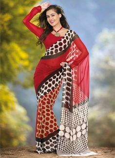 Buy Indian dresses online - the most fashionable Indian outfits for all occasions. Check out our new arrivals - the latest Indian clothes trending in Indian Dresses Online, Indian Sarees Online, Buy Sarees Online, Latest Indian Saree, Casual Saree, Georgette Sarees, Party Wear Sarees, Printed Sarees, Stripe Print