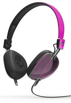 Skullcandy Navigator-2.0, Headphones, pink-black-black Titus Titus Skateshop #Headphones #AccessoriesMale #titus #titusskateshop
