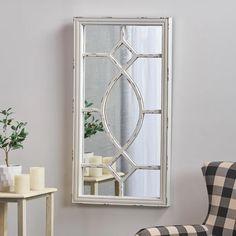Farmhouse Mirrors, Rustic Mirrors, Rustic Farmhouse, Farmhouse Windows, Farmhouse Interior, Farmhouse Style, Mirror Wall Art, Round Wall Mirror, Window Mirror Decor