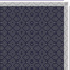 Hand Weaving Draft: ecw110189, Motif-On-Path Project, Ralph Griswold, 8S, 8T - Handweaving.net Hand Weaving and Draft Archive