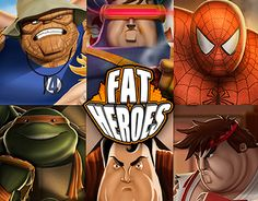 """Check out this @Behance project: """"FAT HEROES"""" https://www.behance.net/gallery/23310683/FAT-HEROES"""