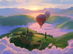 Commission: Above The Clouds by RHADS on DeviantArt