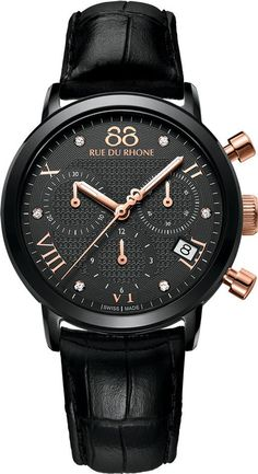 @88rdr Watch Double 8 Origin Ladies #add-content #bezel-fixed #bracelet-strap-leather #brand-88-rue-du-rhone #case-material-black-pvd #case-width-35mm #chronograph-yes #date-yes #delivery-timescale-call-us #dial-colour-black #luxury #movement-quartz-battery #new-product-yes #official-stockist-for-88-rue-du-rhone-watches #packaging-88-rue-du-rhone-watch-packaging #style-dress #subcat-double-8-origin-ladies #supplier-model-no-87wa130005 #warranty-88-rue-du-rhone-official-2-year-guarantee