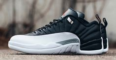 "The Nike Air Jordan 12 Retro Low ""Playoffs"" is now available at kickbackzny.com."