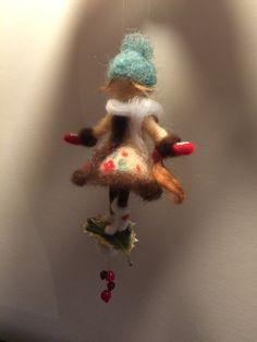 Needle felted doll Waldorf inspired Wool fairy First