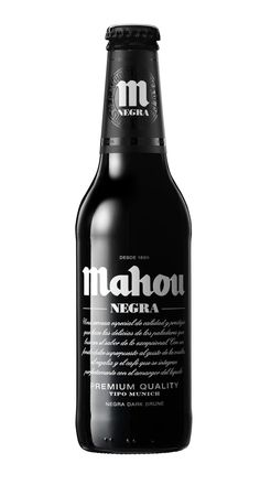 Mahou Negra by Enric Aguilera , via Behance