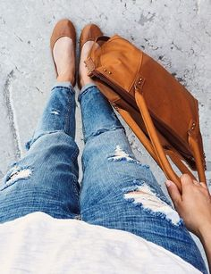 Chestnut & Jeans - Fall Style