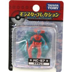 "Takaratomy Deoxys (MC-57): Pokemon Monster Collection 2"" Mini Figure -- You can get more details by clicking on the image. (This is an affiliate link) #ActionToyFigures"