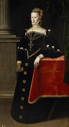 Antonio Moro. Empress Maria of Austria, wife of Maximilian II, 1551