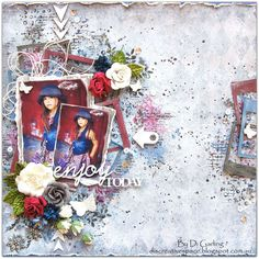 2Crafty Chipboard Guest Designing for the May Challenge from Di Garling