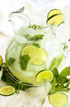 This classic mojito recipe is easy and refreshing! A fresh citrusy mint and lime cocktail is the perfect party drink to enjoy on the deck with friends! This can be made non-alcoholic too!