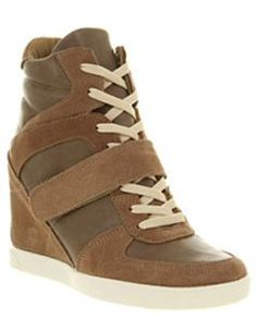 Womens Office Dash Wedge Natural Ankle Boots, Natural.  These ankle boots definitely seem to be very popular at the moment!