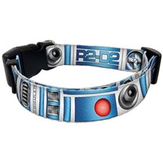 R2-D2 Dog Collar Medium