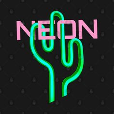 Check out this awesome 'Neon+Cactus' design on @TeePublic! Neon Cactus, Stationary, Masks, Minimalist, Neon Signs, Awesome, Check, T Shirt, Design