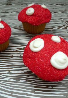 Cupcakes champignons