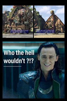 This is pretty funny. Lol. :) // Ate they really talking about Marvel tho? 'Loki' 'Thor' 'Odin'