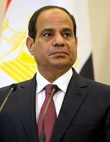 EGYPT: Abdel Fattah el-Sisi, the sixth and incumbent President of Egypt, in office since June 2014. As chief of the Egyptian Armed Forces, Sisi ousted President Mohammed Morsi.