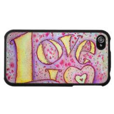 Love iPhone Hard Case