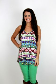 Amour Boutique - Outta This World Tank Top, $29.00 (http://www.shopamourboutique.com/outta-this-world-tank-top/)