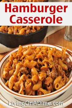 Hamburger Casserole