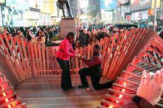 Times Square Sevgililer Günü Kalp Tasarımı yarışması sonuçlandı.